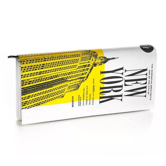 New York Subway Map Leather Taxi Wallet.Kate Spade New York Map Clutch Magazine Purse